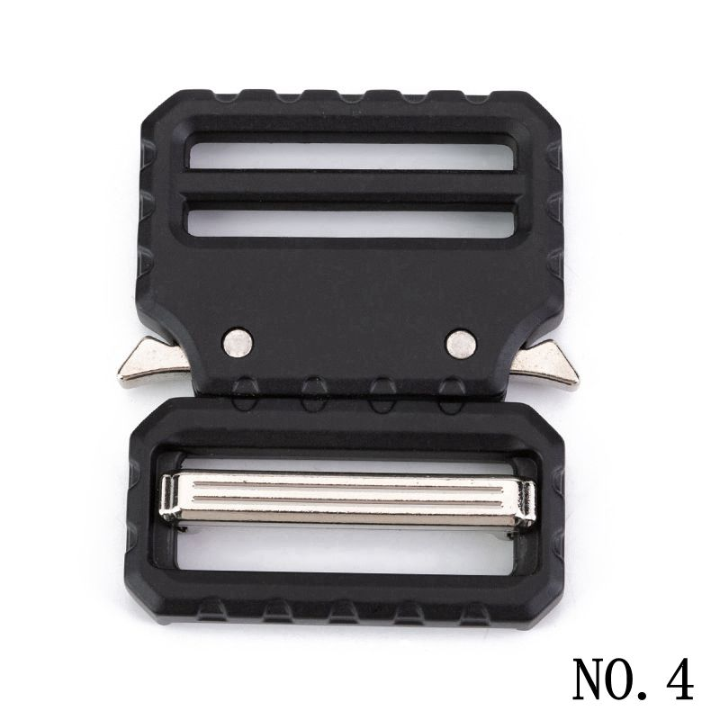 38mm Tactical Belt Buckles For Men Side Quick Release Buckle For Diy Webbing Safety Strong Hooks Clips Diy Luggage Accessories