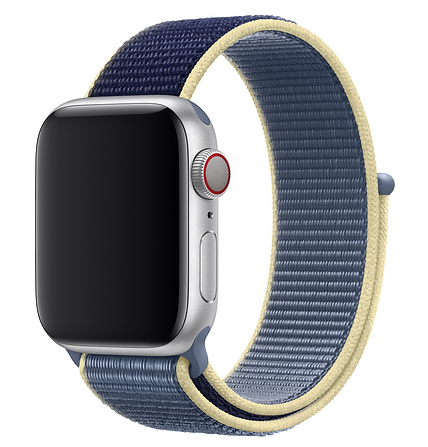 Sport Bracelet Loop Band For Apple Watch 44mm 42mm 40mm 38mm Reflective Woven Nylon Strap Wrist Band For Iwatch Series 4/3/2/1