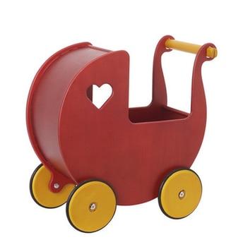 German sebra baby walker toy hand push parm stroller baby stroller super market toy Walker 8-24 months wooden scooter baby