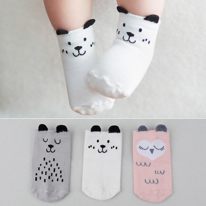 Baby Socks Autumn Winter Cotton Socks Warm Toddler Boy Girls Floor Socks Infant Clothing Accessories Thicken