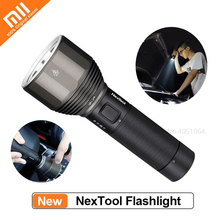 Xiaomi NexTool 2000lm 380m Outdoor Flashlight 5 Modes USB Rechargeable IPX7 Waterproof Portable Flash Light For Travel Camping on AliExpress