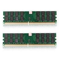 2PCS 4G DDR2 800 PC2 6400 Durable Desktop Memory Bank 240 Pin For AMD Motherboard