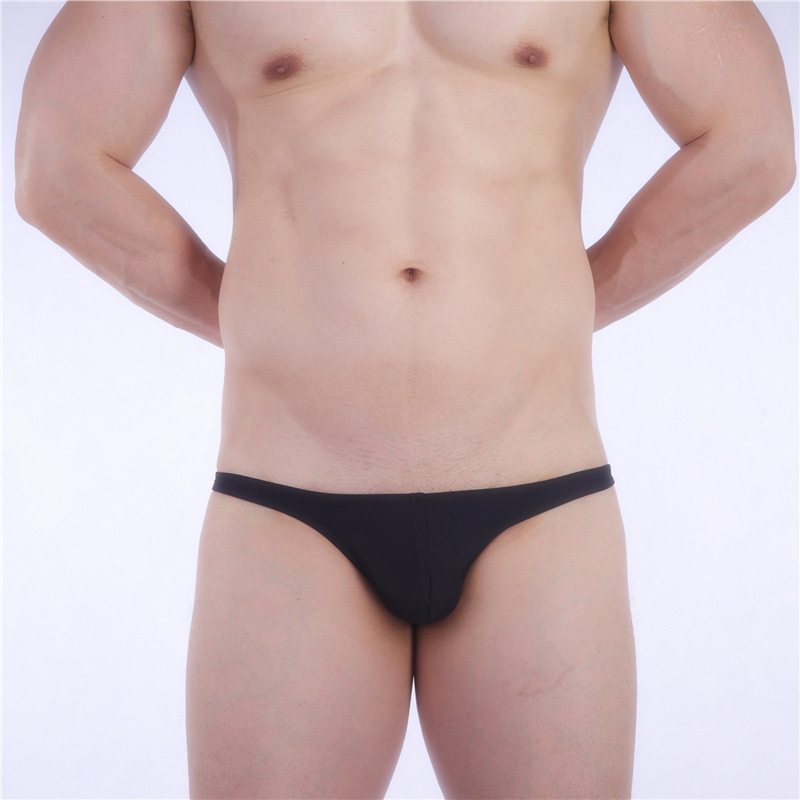 + Sea Anchor King + Cordless Men Triangular Swimming Trunks-Style Low-Rise-Quick-Dry Tight Jitu Sun Tanning Industry