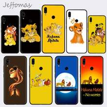Lion King Pumba Hakuna Matata Soft Phone Case Capa For Xiaomi Redmi Note 4 4x 5 6 7 8 pro S2 PLUS 6A PRO(China)