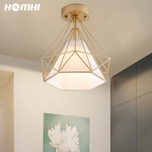 Ceiling-Lights Salon Nordic-Decoration Bedroom Foyer-Hallways Gold Living-Room Diamond