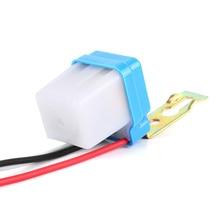Автоматический фотоэлемент переключатель уличного света автоматический переключатель зажигания 50-60 Гц 10A фотопереключатель DC фотопереключатель датчик 12 В 24 В 220 В
