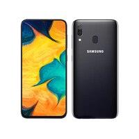 Samsung Galaxy-teléfono móvil A30 desbloqueado, smartphone con pantalla completa de 6,4 pulgadas, 3GB + 32GB, Tarjeta Sim única, Octa Core, 4G LTE, cámara de 16MP
