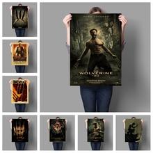 Marvel superhéroe x-men película de Lobezno póster de estilo Retro decoración artística de alta calidad póster de película para pared arte sin marco o865