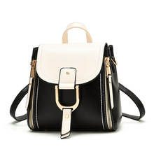 Brand fashion backpacks for women high quality shoulder bag female zipper school bags with top-handle fashion design 2020