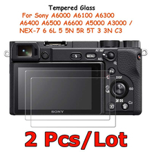 Screen-Protector Protective-Film A5000 A6300 Ilce-A6000 Sony Tempered-Glass for Ilce-a6000/A6100/A6300/..