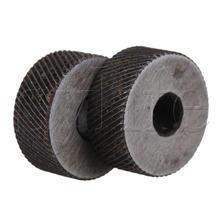 2 шт 08 мм Шаг грубая Диагональ 19 od knurling wheel roller
