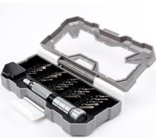 מגנטי מברג סט 23 ב 1 Nanch דיוק יומי פירוק כלי עבור אלקטרוניקה רב אורך מברג Iphone כלים