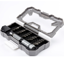 Manyetik tornavida seti 23 In 1 Nanch hassas günlük sökme aracı için elektronik çok uzunluk tornavida Iphone araçları