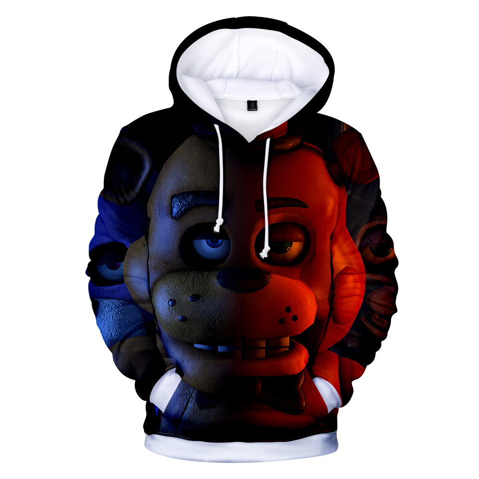 Одежда для мальчиков и девочек 3d Хэллоуин с изображениями персонажей