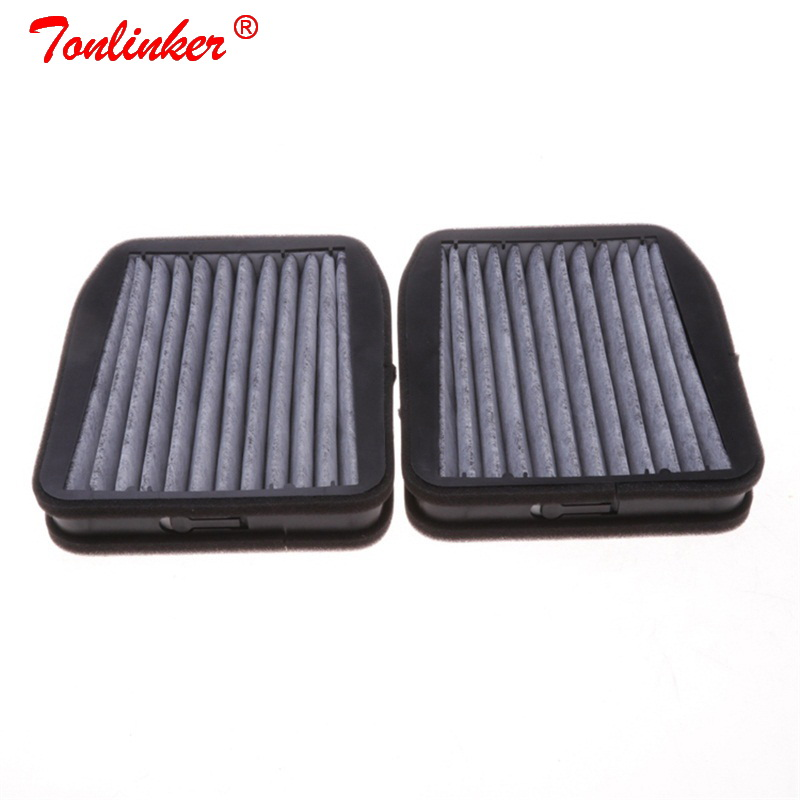 Cabin Filter A2118301218/A2118300818 2 Pcs For MERCEDES-BENZ E-CLASS <font><b>W211</b></font> 2002-2008/S211 2003-2009 E200CDI E200 Kompressor E240 4-matic E270CDI E280CDI E320CDI E400CDI E500 4-matic <font><b>E55</b></font> <font><b>AMG</b></font> Model Car Filter image