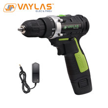 Cordless-Drill Power-Tool Electric-Screwdriver 1-Lithium-Battery Rechargeable 12V