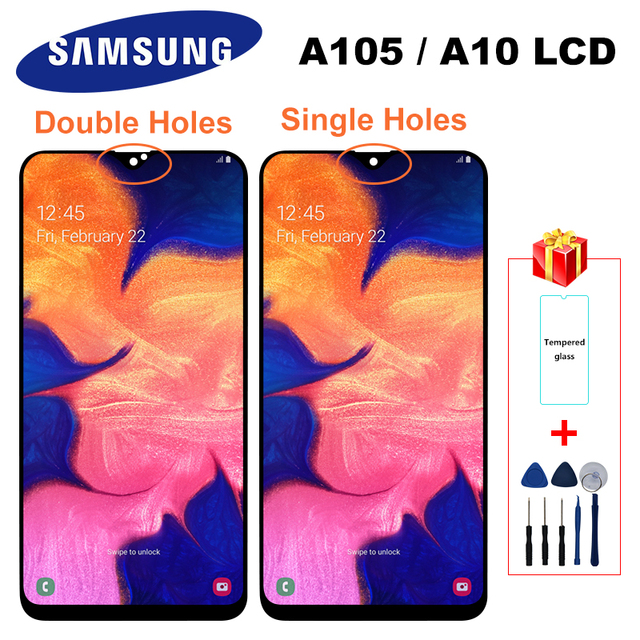 $ US $15.96 Original For Samsung Galaxy A10 2019 Display A105F A105 /DS SM-A105F A10 LCD Touch Screen Digitizer Display For Galaxy A105 LCD