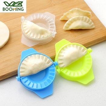 Wbboom pierogi narzędzia do modelowania kuchnia magiczny kreatywny ręczny pakiet maszyna spożywcza plastikowa szczypta narzędzia kuchenne One Piece tanie i dobre opinie WBBOOMING Z tworzywa sztucznego W1908093 Dumpling Model White Blue Green Eco-Friendly Healthy 11x7 5cm