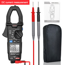 Verdadeiro rms medidor de braçadeira digital mestek cm83d dc ac corrente tensão ampere ncv ohm testador amperímetro multímetro ferramenta eletricista
