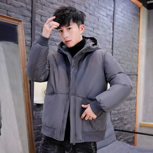 Winter Parka Men Down Jacket 2019 Fashion New Brand Hooded Parkas Men Solid Plus Size 4XL Men Winter Coat Casual Bubble Coat цены онлайн