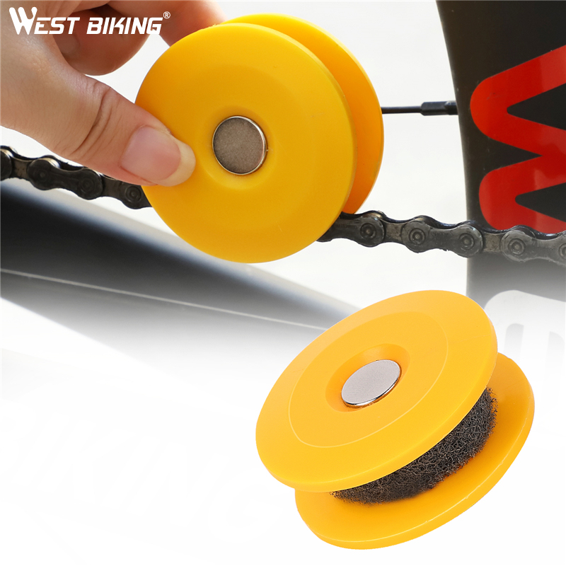 Roller-Gadget Bike-Accessories Bicycle-Chain Practical-Tool Cycling-Gear Lubricating