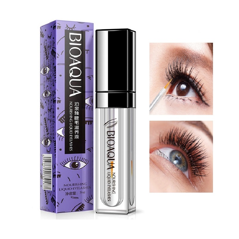 BIOAQUA Eyelash Growth Serum Treatments Eyelash Serum 7 Days Longer Thicker Feg Eyelash Enhancer Eye Lash Lift Makeup Eyes Care
