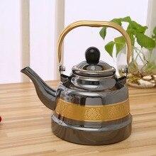 1.1L-2.5L бытовой чайник, кружевная эмалированная чашка, chaleira, свисток, чайники, эмалированный чайник для газовой плиты, эмалированный кофейник, флейткетель