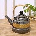 1.1L-2.5L бытовой чайник  кружевная эмалированная чашка  chaleira  свисток  чайники  эмалированный чайник для газовой плиты  эмалированный кофейник ...