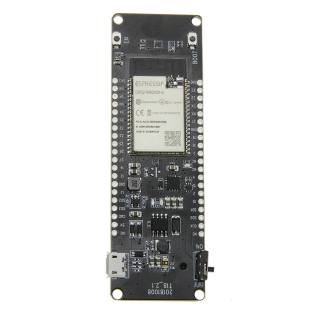 ABKT Ttgo T Energy Esp32 8Mbyte Psram Esp32 Wrover B Wifi & Bluetooth Module 18650 Battery Development Board