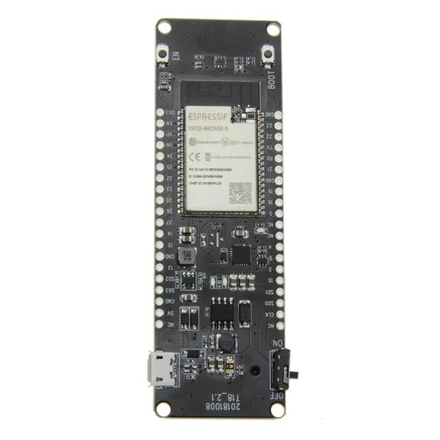 Abkt Ttgo T Energie Esp32 8Mbyte Psram Esp32 Wrover B Wifi & Bluetooth Module 18650 Batterij Development Board