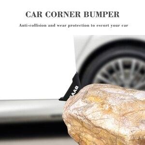 Image 2 - Protector de silicona para esquina de puerta de coche, parachoques antiarañazos para VW, Volkswagen, Scirocco, Bora, Golf, Passat, Shar, 2 uds.
