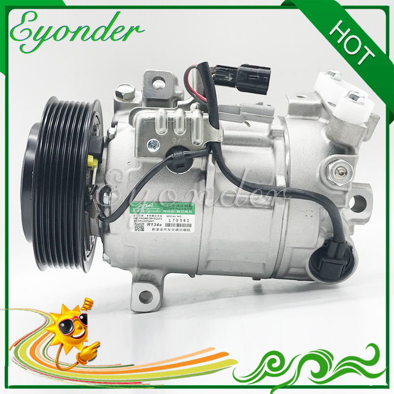 AC Air Conditioning Compressor Cooling Pump for Nissan X TRAIL j11 Qashqai Renault Scenic 1.6 926004EB0A GE4471606893 926004EF0A Fans & Kits     - title=