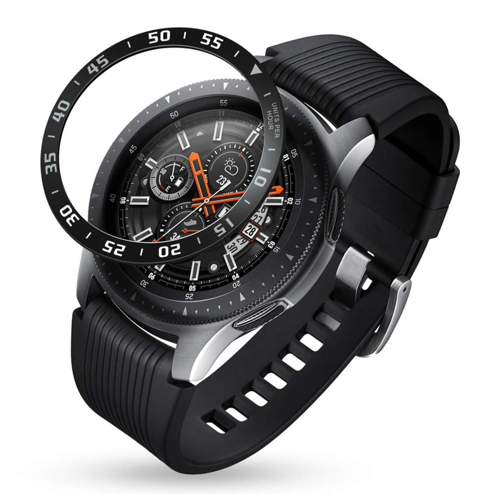 Metal Case For Samsung Galaxy Watch 46mm/42mm Gear S3 Frontier/Classic Adhesive Cover Gear S 3 42 46 MM Bezel Ring Accessories