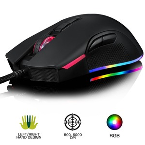 Image 2 - Motospeed V70 USB Wired Gaming Mouse PMW3325 5000DPI PMW3360 12000 DPI Computer RGB LED Multi Color Backlight Send With Box