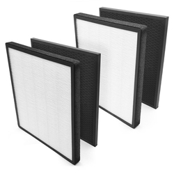 ABRA-Replacement Filters True HEPA and Activated Carbon Filter Kits for Air Purifier Accessories LV-PUR131
