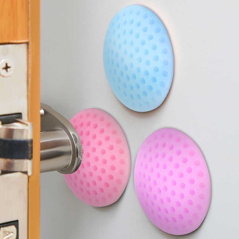 SUEF 1PCS Wand Verdickung Stumm Tür Stick Golf Styling Gummi Fender Griff Türschloss Schutzhülle Pad Schutz Hause Wand S @ 1
