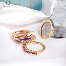 Модные минималистичные кольца для женщин геометрическое кольцо