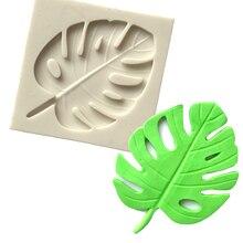 Epoxxy Resin Polymer Molds Hawaii Leaf Silicone Fondant Cake Designer Concrete P