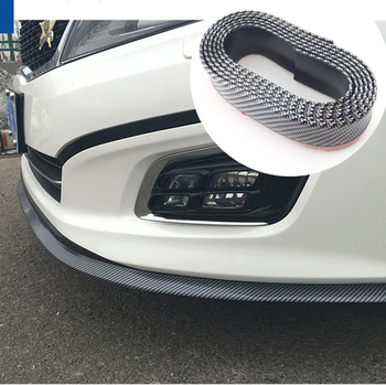 2.5M front bumper protector rubber cover anti-collision for BMW 1 2 3 4 5 6 7 Series X1 X3 X4 X5 X6 E60 E90 F07 F09 F10 F15 F30 image