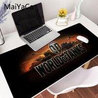 World of tanks-almohadilla de ratón con logo, 700x300x3mm, para ordenador portátil, para videojuegos