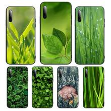 Art High Weed Pictures Leaf Grass Phone Case For Samsung S note S10E 6 7 8 9 10 20 plus edge lite Cover Fundas Coque