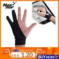 NEO STAR перчатки с двумя пальцами художника анти-прикосновения для рисования планшета правая и левая рука перчатки анти-обрастания для ipad экр...