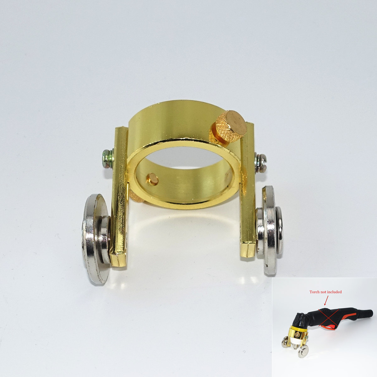 Professional P80 Roller Guide Wheel Spacer Plasma Cutting Torch Guider For P80 Plasma Cutting Machine