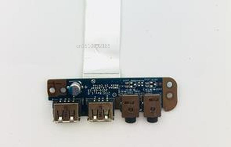 FOR Toshiba Satellite A660 P750 P775 USB Audio Jack Board With Cable LS-6064P Free Shipping