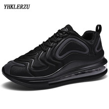 YHKLERZU Brand Designer Sport Running Shoes Air Cushion Lightweight Breathable S
