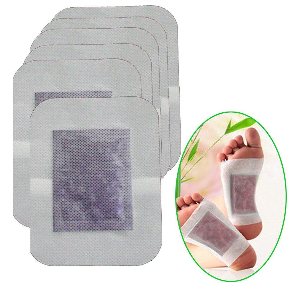 New Arrival 6Pcs/Bag Lavender/Rose/Ginger Essential Oil Detox Foot Patch Adhesive Detox Slim Foot Care Plasters JMN029 1