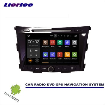 Liorlee For SsangYong Tivoli 2015-2017 CD DVD GPS Player Navi Radio Stereo HD Car Multimedia Navigation Wince/Android System image