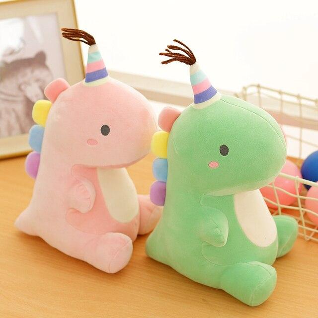 Kawaii Pastel Colors Dinosaur Plush – Limited Edition