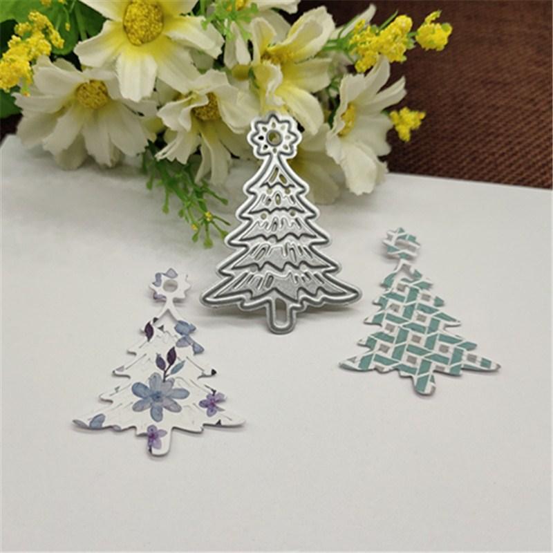 Christmas Tree Metal Cutting Dies For DIY Scrapbooking Album Paper Cards Decorative Crafts Embossing Die Cuts