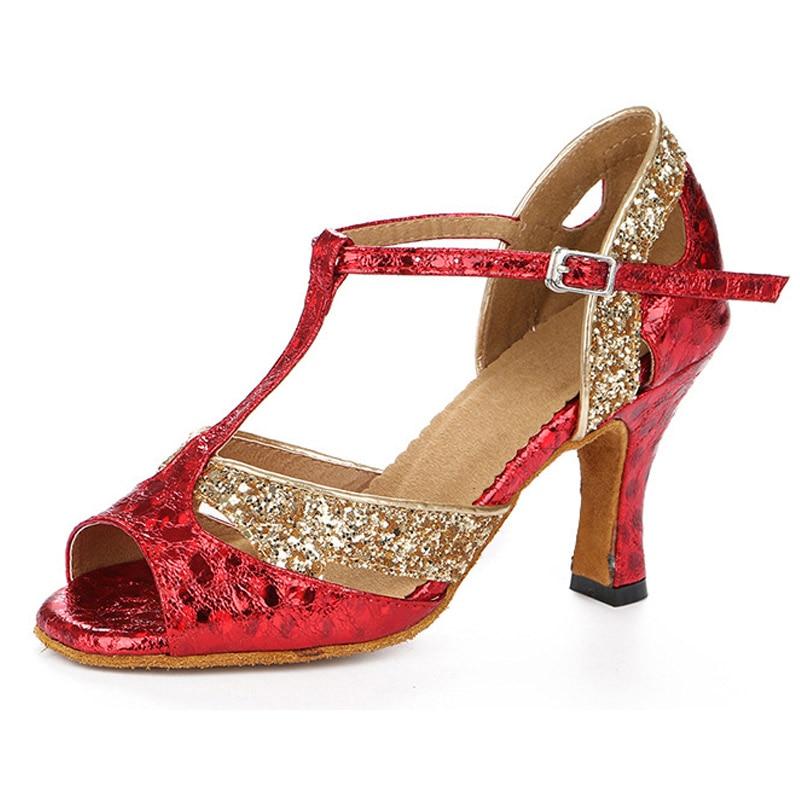 2020 New Latin Tango Dacne shos Adult Women Shoes indoor Ballroom Shoes hot Salsa High-quality